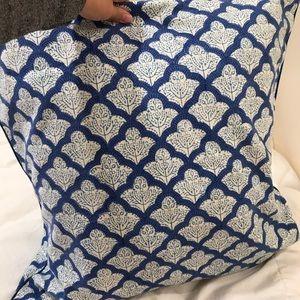Roller Rabbit pillow